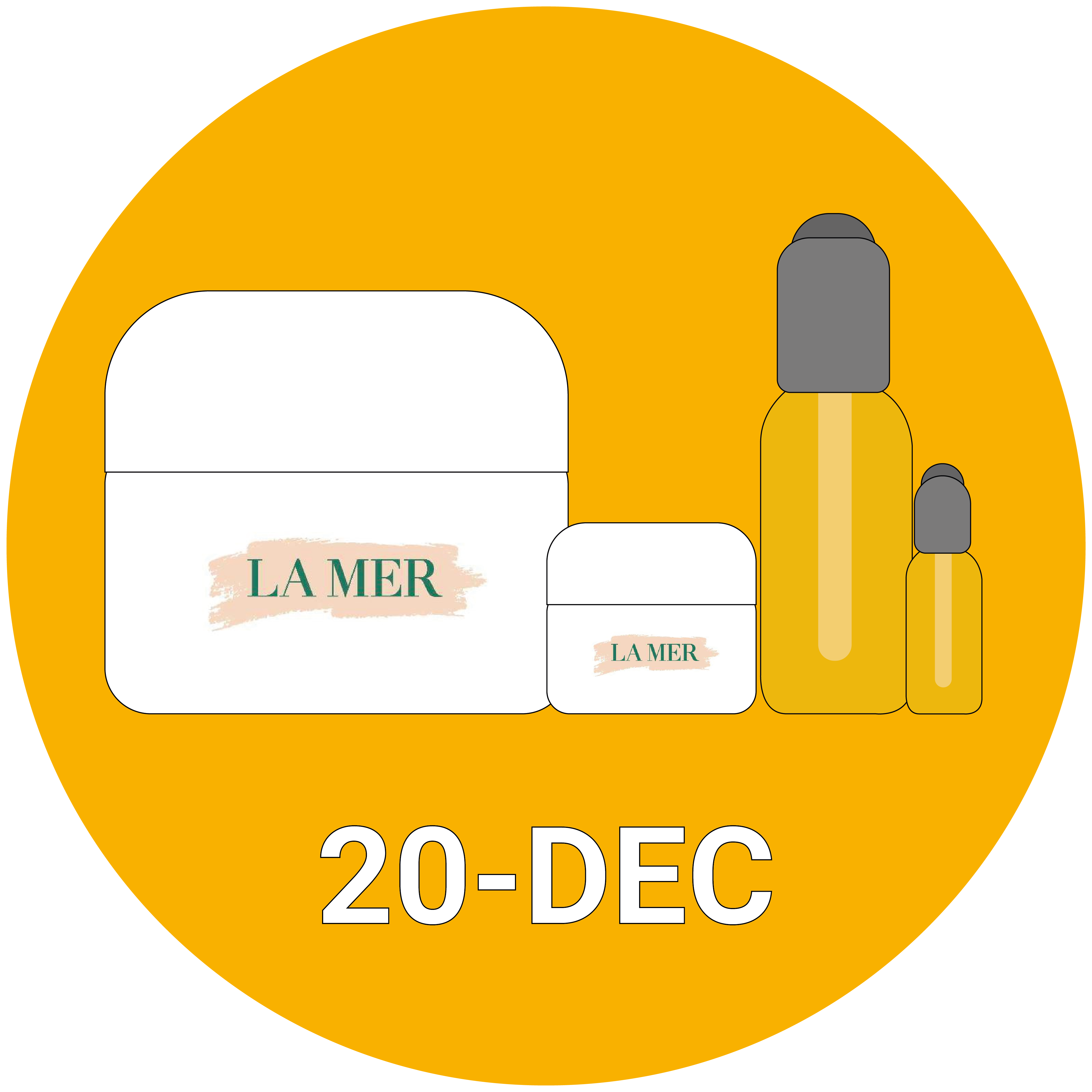 LA MER The Glowing Hydration Collection
