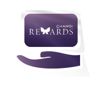 Present Your Changi Rewards Card